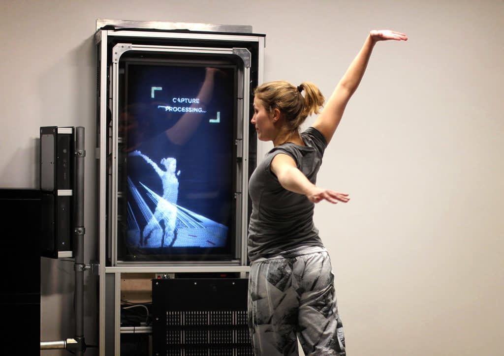 We the Curious volumetric video capture station by Zubr