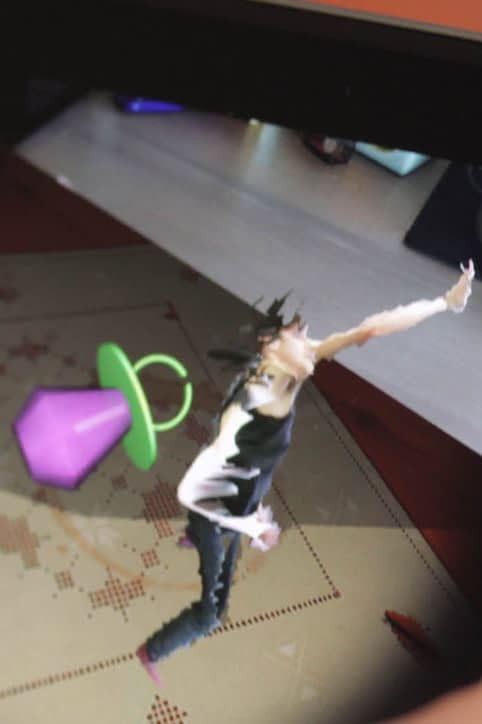 Zubr augmented volumetric video dance piece