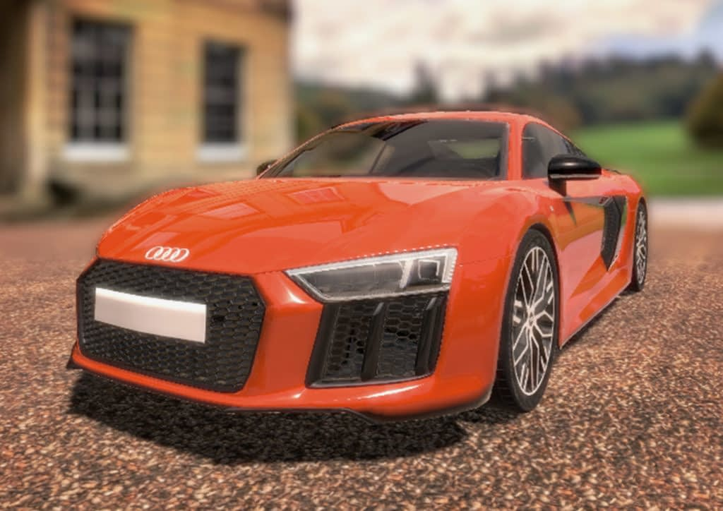 Zubr virtual reality audi car showroom