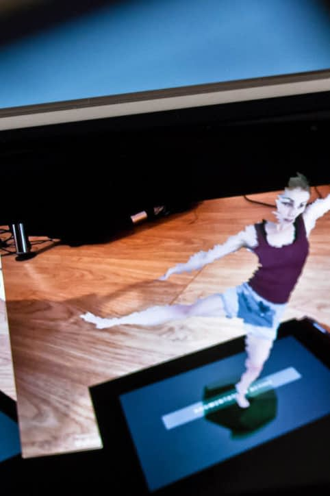 Augmented reality Google Cardboard volumetric video dance capture