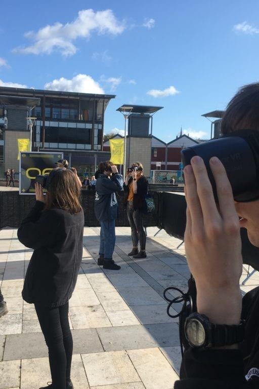 Zubr multi user 5G virtual reality 6DOF music experience